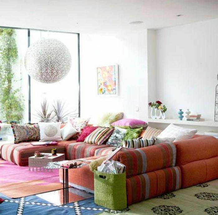 Le canap marocain qui va bien avec votre salon for Le salon du meuble paris