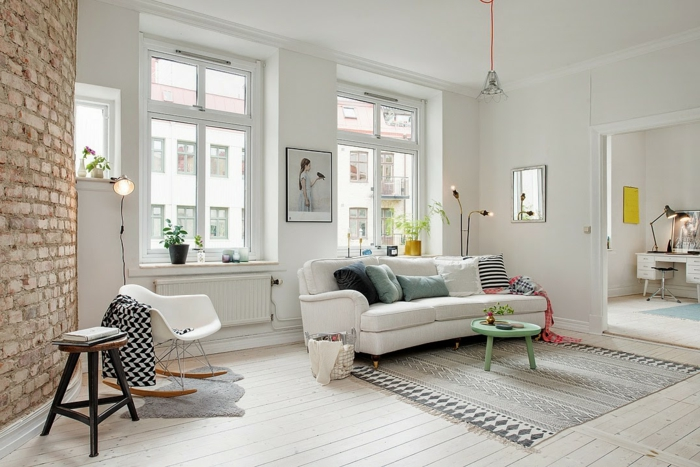 Comment cr er son salon scandinave - Idee deco salon petite surface ...