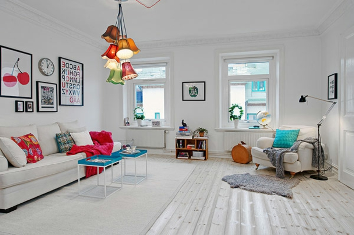 salon-scandinave-aménagement-minimaliste-sol-blanc