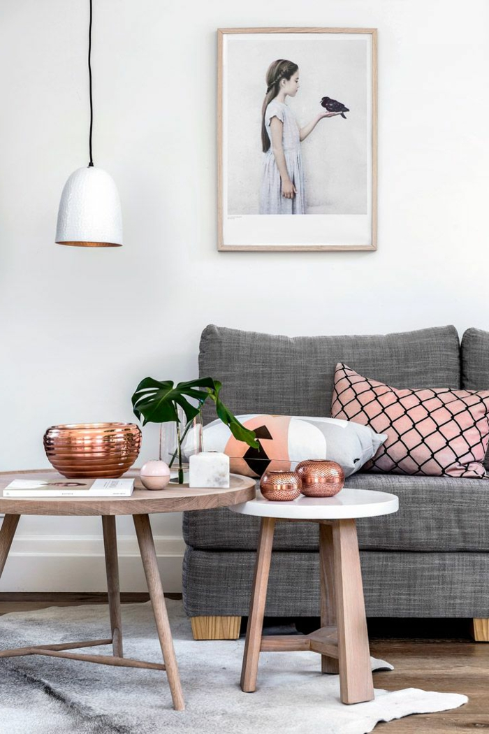 Comment cr er son salon scandinave - Table de salon style scandinave ...