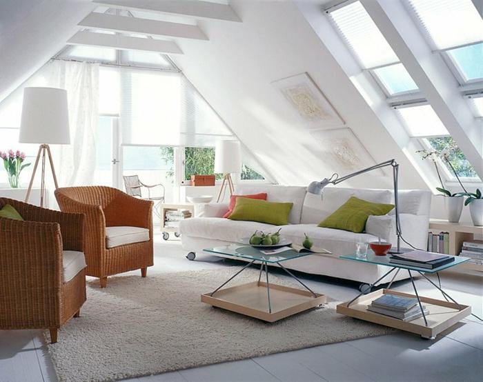 salon-scandinave-intérieur-attique-salle-de-séjour