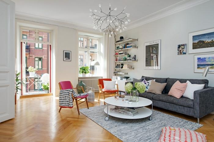 Comment créer son salon scandinave - Archzine.fr