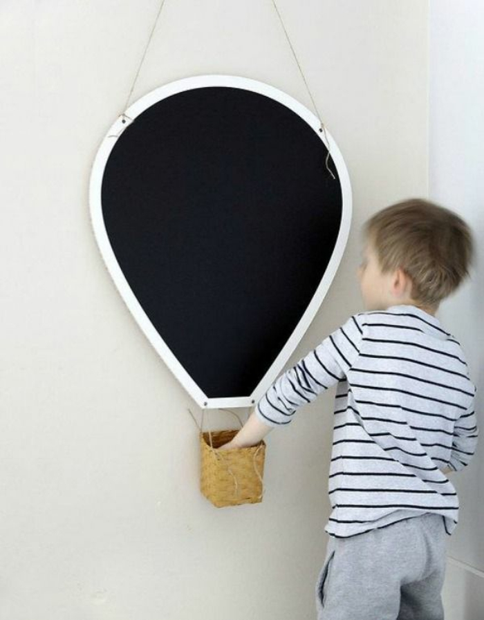 stickers-muraux-ardoise-tableau-noire-cadres-déco-peinture-sur-ardoise-ballon-idées