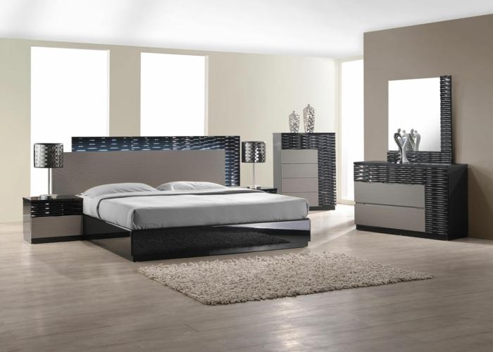 suite-parentale-gris-intérieur-gris-sol-en-parquette-gris-tapis-grsi-lit-avec-linge-de-lit-gris