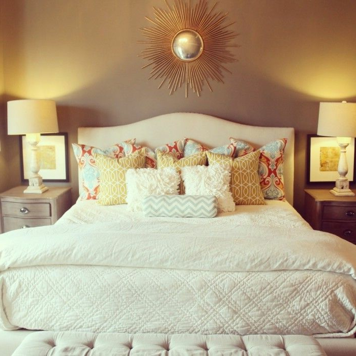 La suite parentale beaucoup d id es en 52 photos inspirantes - Idee deco chambre parentale ...