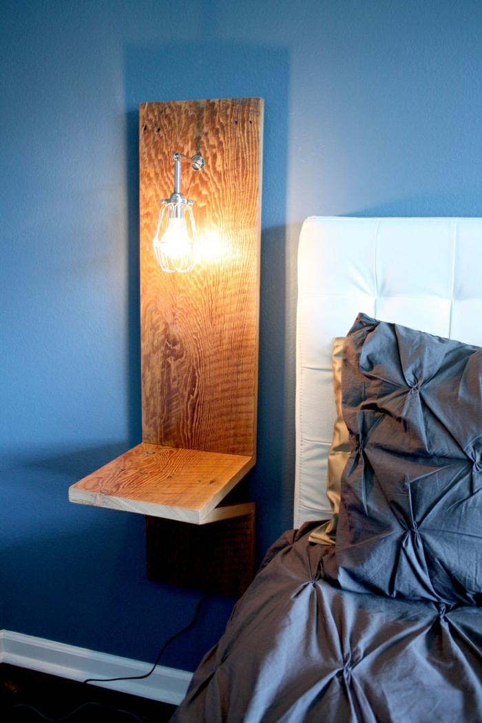 table-de-nuit-suspendue-design-élégant-en-bois