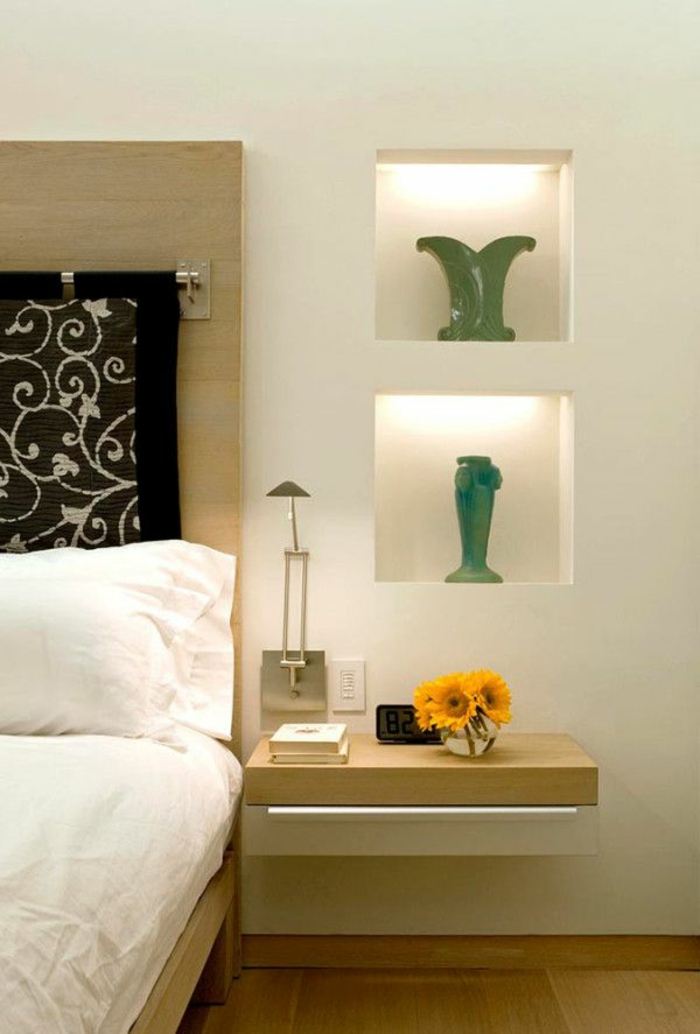 Best etagere murale chambre a coucher photos design for Chambre a coucher design
