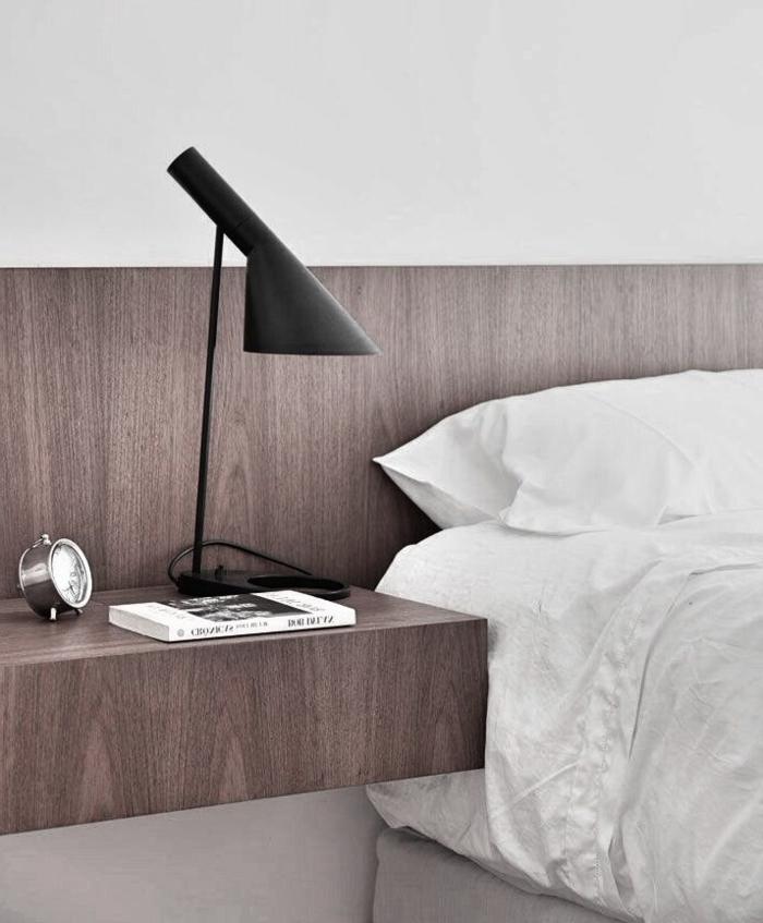 table-de-nuit-suspendue-et-tête-de-lit-en-bois