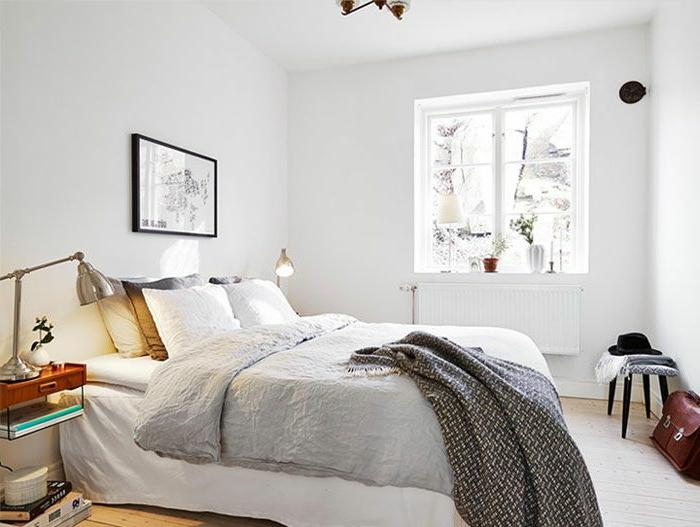 table-de-nuit-suspendue-intérieur-scandinave-chambre-à-coucher