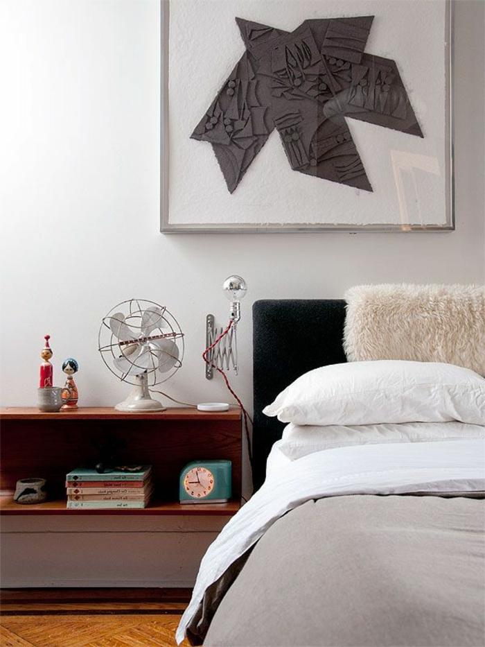 table-de-nuit-suspendue-jolies-solutuins-pour-les-chambres-à-coucher