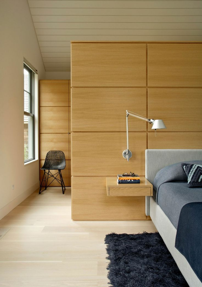 table-de-nuit-suspendue-unique-chambre-à-coucher-table-de-chevet-flottante