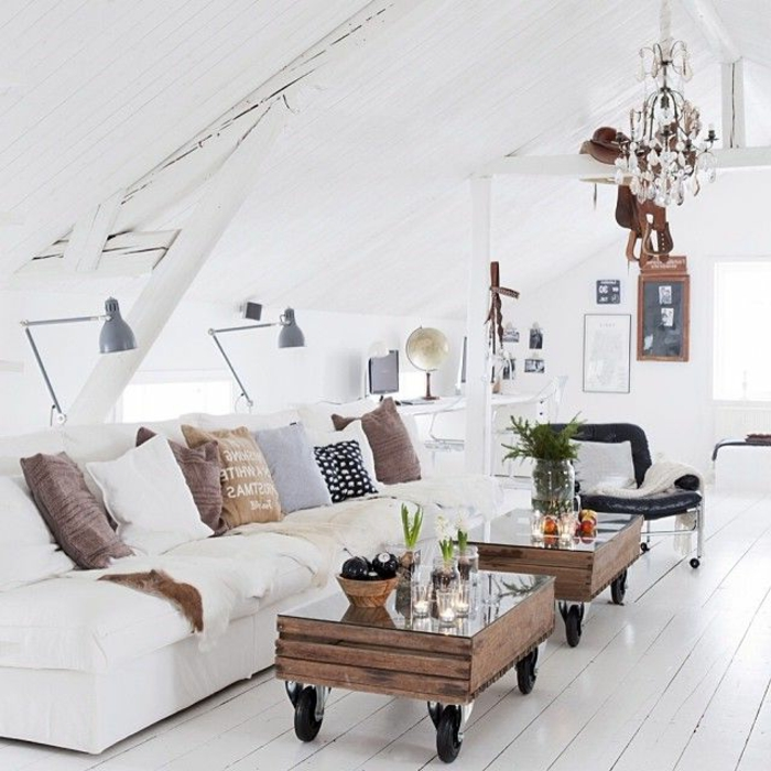 plusieurs designs pour la table de salon en palette. Black Bedroom Furniture Sets. Home Design Ideas