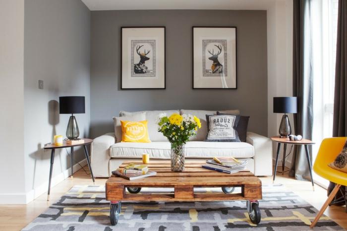 table-de-salon-en-palette-intérieur-inspirant-et-table-basse-palette