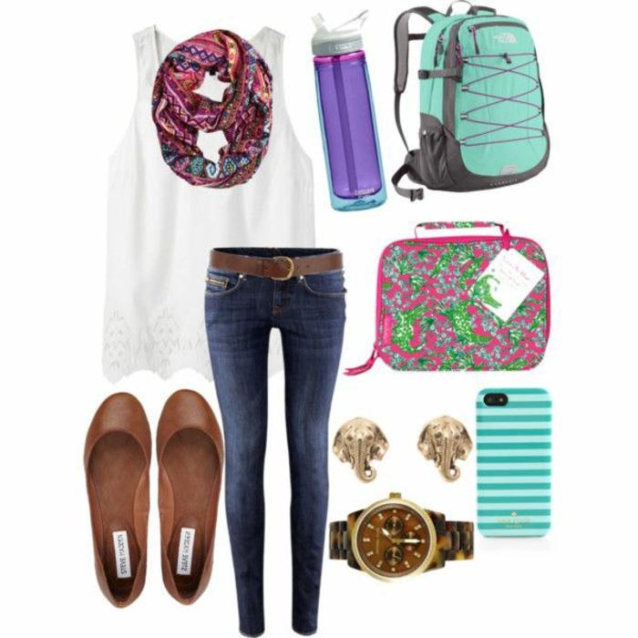 tenue-de-jour-comment-s-habiller-école-lycée-université-approprié-vêtements-sympa