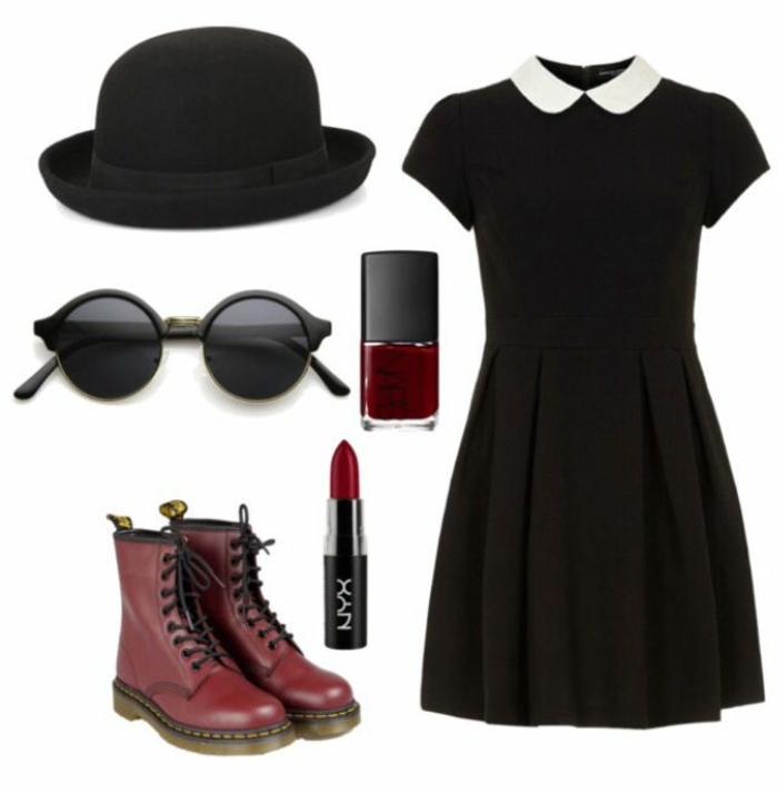 tenue-de-jour-comment-s-habiller-école-lycée-université-approprié-vetements-robe-noire-resized