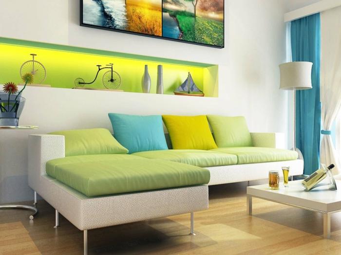 un-original-salon-comment-décorer-le-salon-meubles-colorés-intérieur-moderne