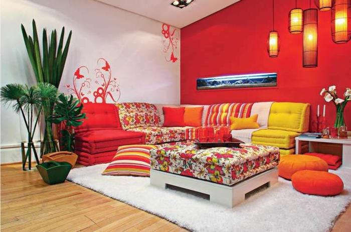Le canap marocain qui va bien avec votre salon - Salon berbere moderne ...