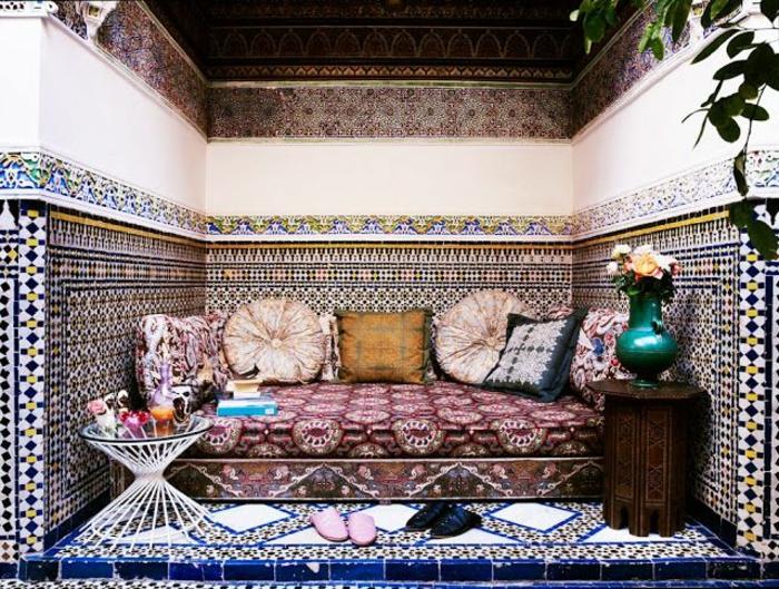 Le canapé marocain qui va bien avec votre salon - Archzine.fr