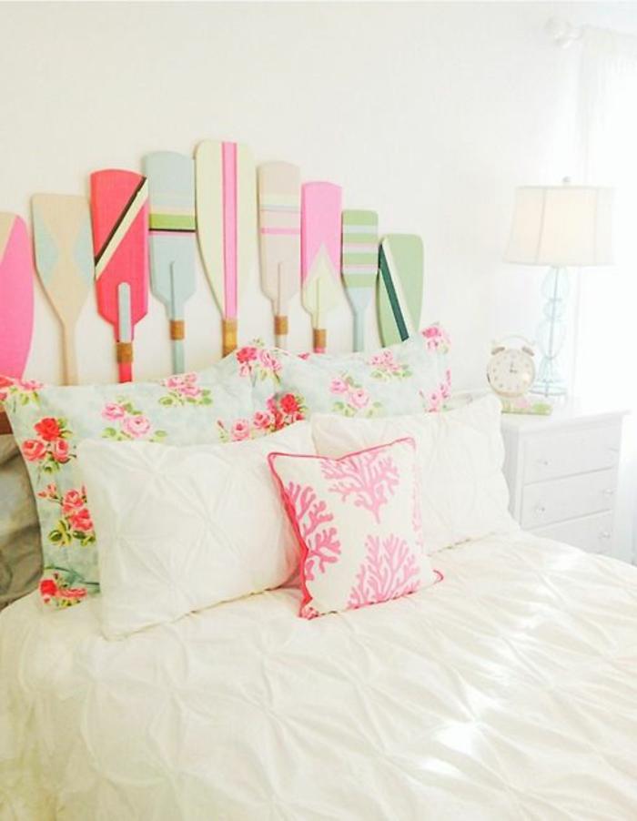 Comment d corer sa chambre id es magnifiques en photos - Decorer une tete de lit ...