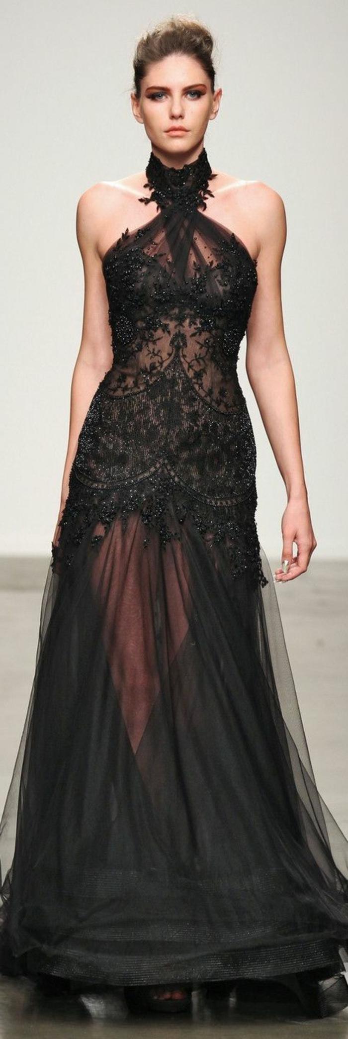 Savourer la beaut de la robe de soir e dentelle en 45 photos for Robe de cocktail avec veste pour mariage