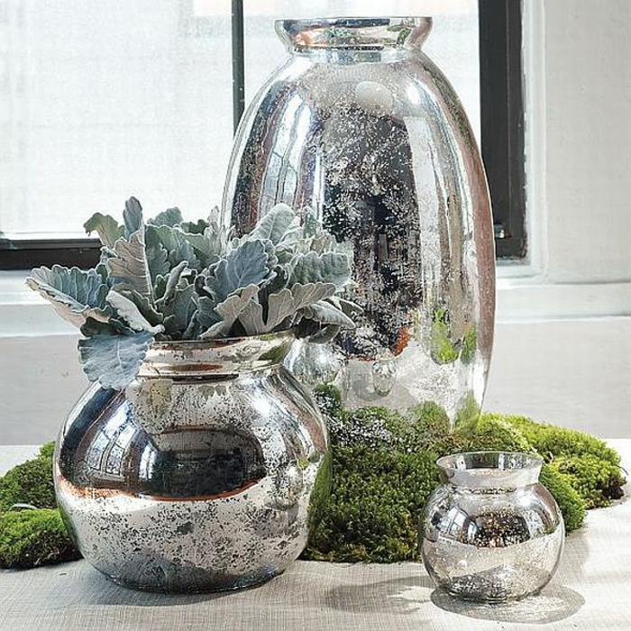 vase-blanc-fange-jarre-limon-vase-verre-décoration-vase-en-verre-argenté