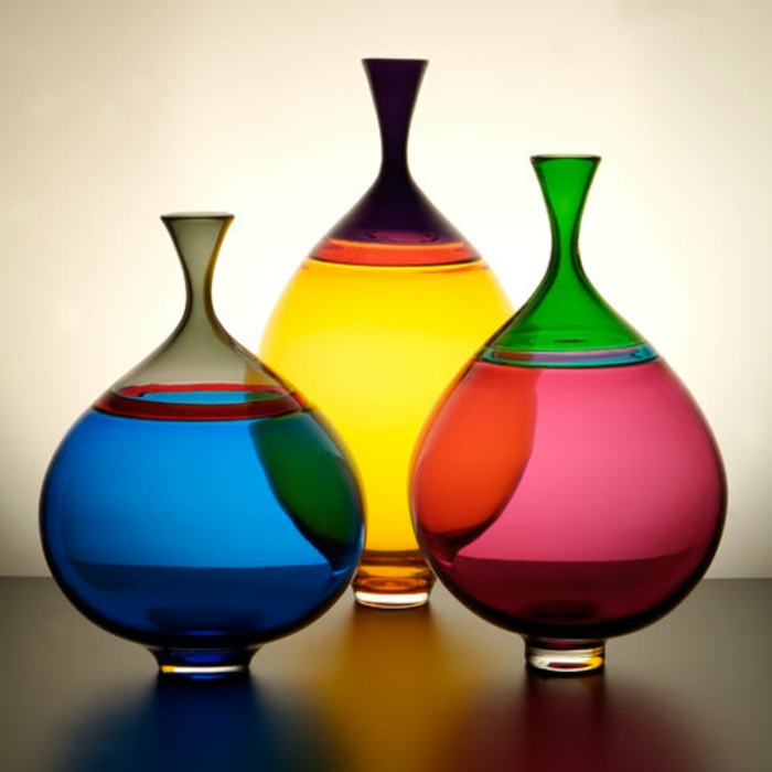 vase-blanc-fange-jarre-limon-vase-verre-décoration-vase-en-verre-colorés