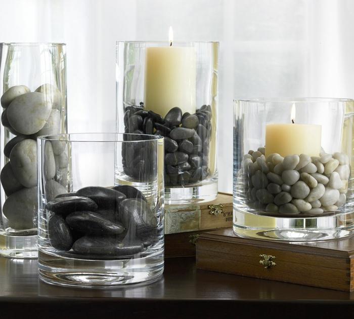 vase-blanc-fange-jarre-limon-vase-verre-décoration-vase-en-verre-pierres-bougies