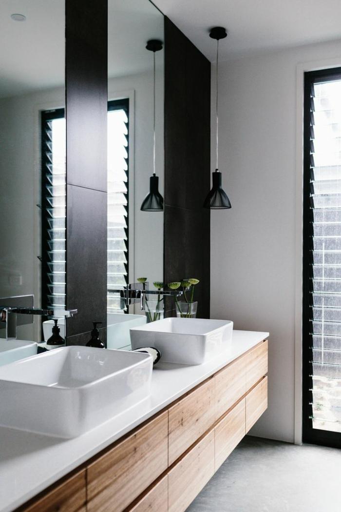 d corer la salle de bains avec un vier c ramique. Black Bedroom Furniture Sets. Home Design Ideas