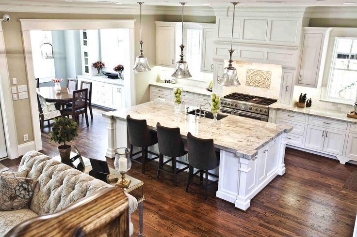 D couvrir la beaut de la petite cuisine ouverte - Comment construire une cuisine exterieure ...