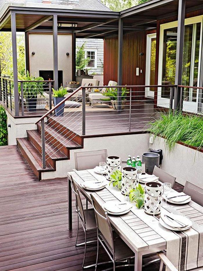 Garde Corp Bois Castorama : Si vous avez une belle vue de votre balcon, optez pour la balustrade
