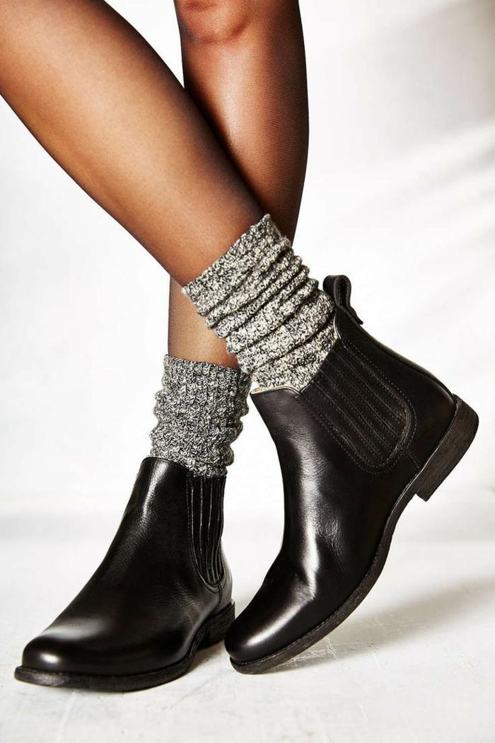 0-les-bottes-noires-pour-les-femmes-modernes-hiver-2015-chaussures-noires-en-cuir