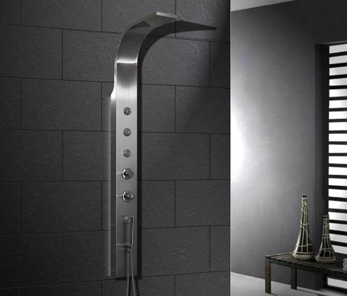 D couvrir la meilleure colonne de douche en 53 photos - Colonne de douche inox ...