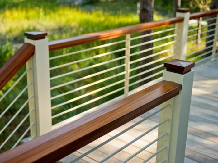 Variantes pas cher pour choisir la balustrade ext rieure for Balustrade bois exterieur