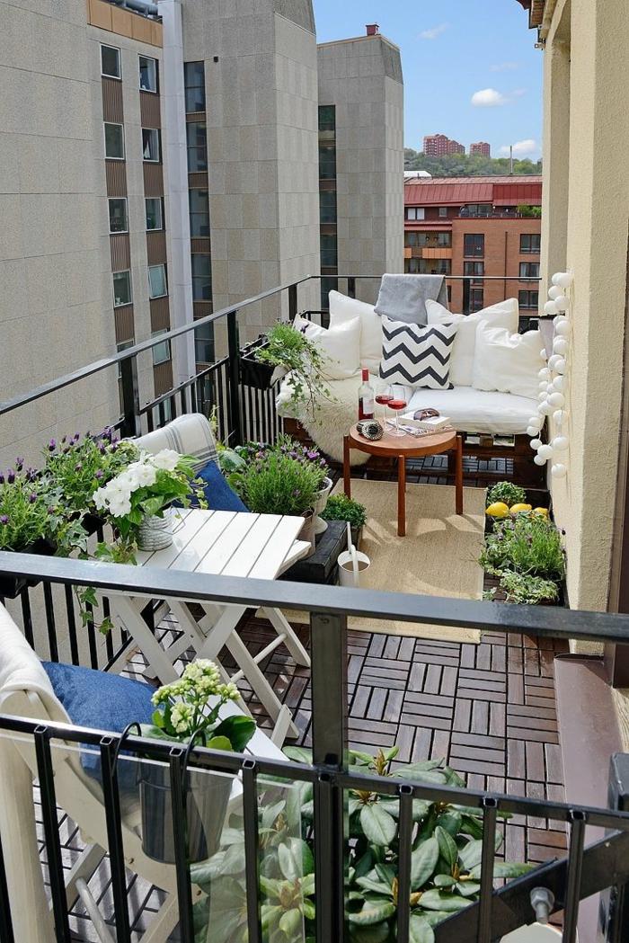 Variantes pas cher pour choisir la balustrade ext rieure - Amenager balcon pas cher ...