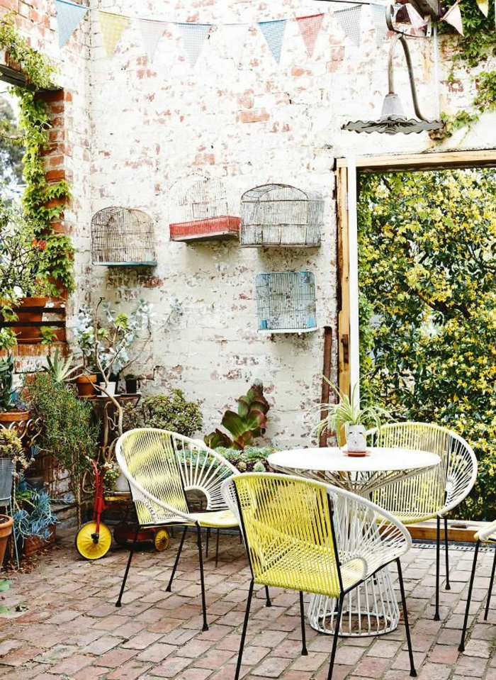60 photos comment bien am nager sa terrasse - Comment amenager son interieur avec des meubles peints ...