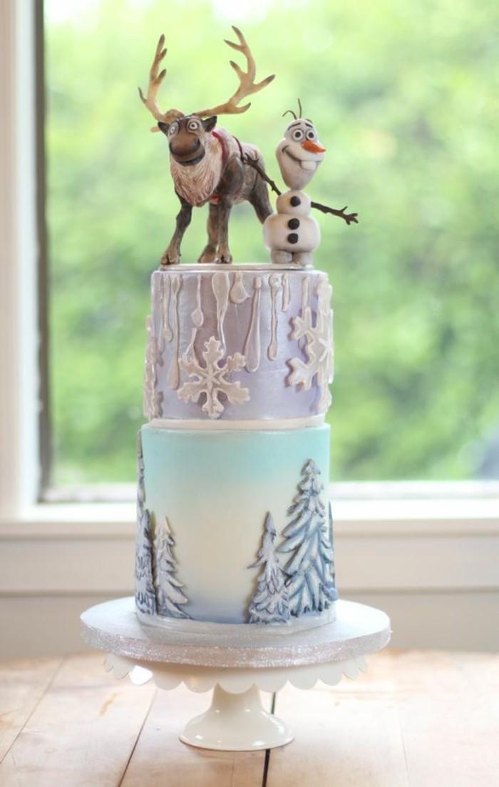 1-anniversaire-gâteau-la-reine-des-neiges-anna-elsa-olaf-gateaux-reine-des-neiges
