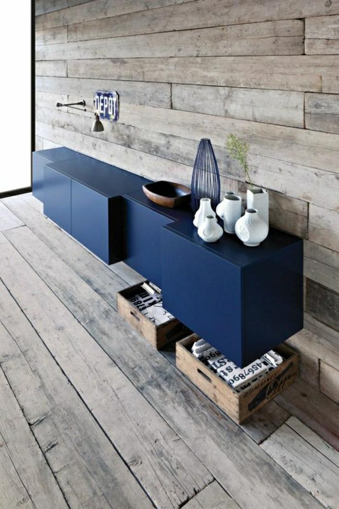1-bahut-mural-pour-votre-intérieur-en-bois-foncé-quel-style-d-intérieur-pour-le-salon