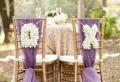 On vous présente la housse de chaise mariage en 53 photos!