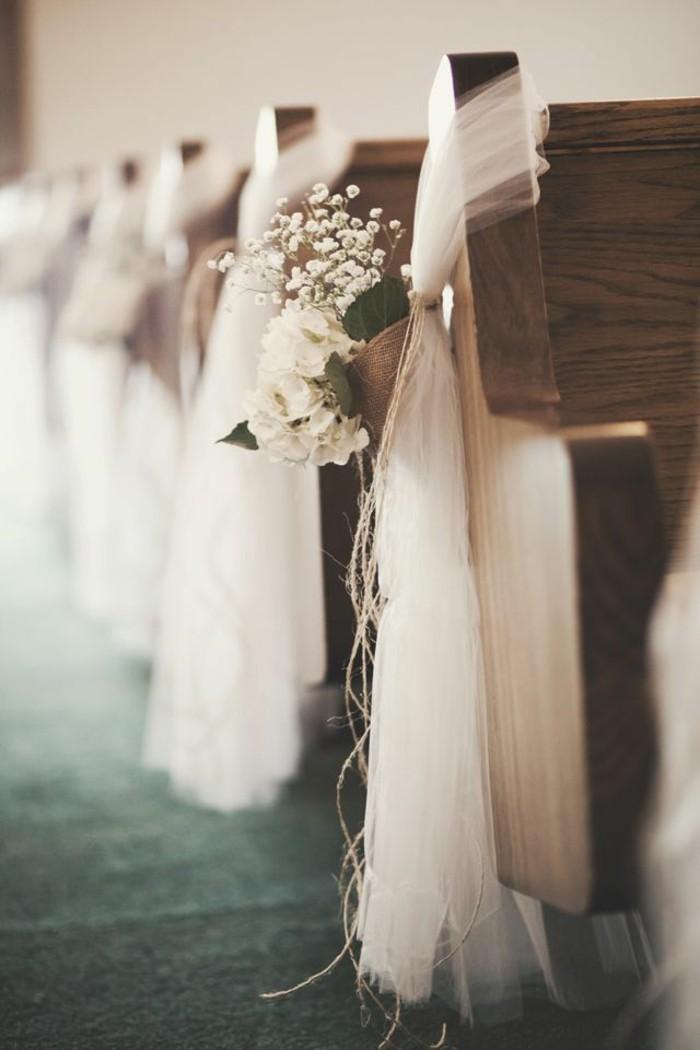 On vous pr sente la housse de chaise mariage en 53 photos Centre table mariage plage idees