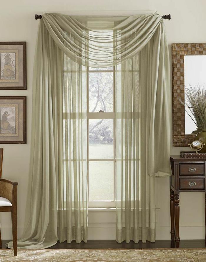 1-decouvrir-la-beauté-de-rideau-voilage-vert-pour-l-intérieur-de-la-maison
