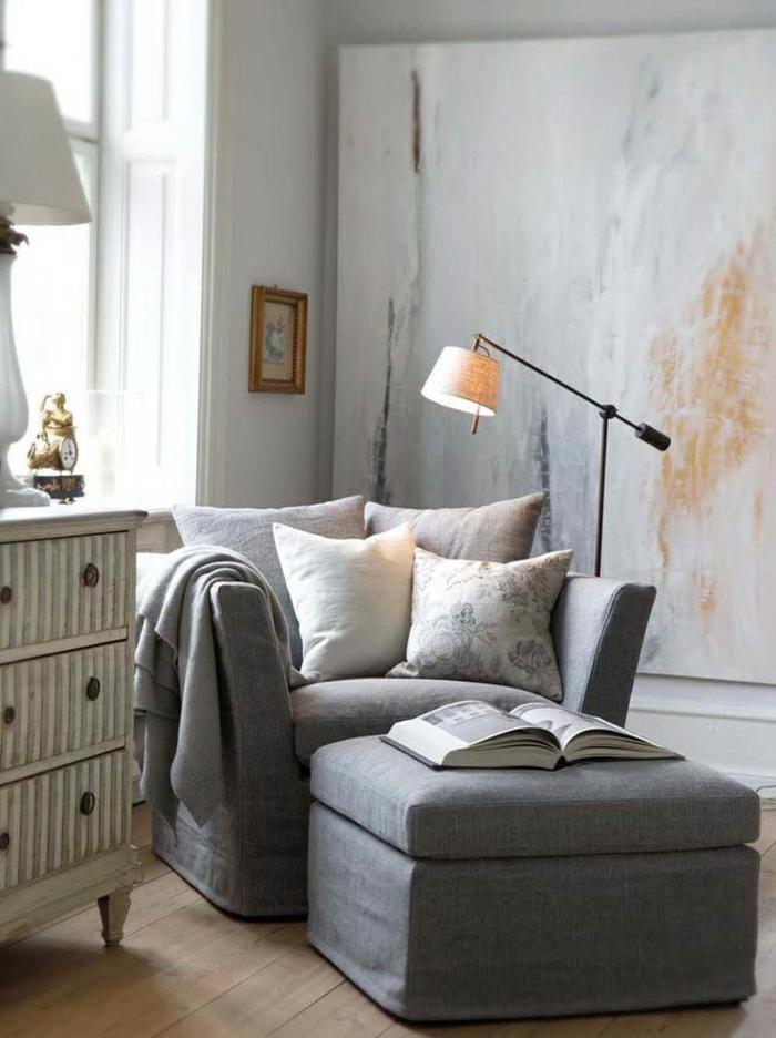 40 id es en photos pour comment choisir le fauteuil de lecture for Meuble pour lampe de salon