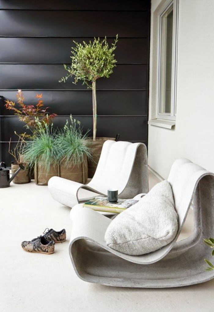 1-idee-amenagement-jardin-moderne-avec-mobiliers-d-extérieur-modernes-pas-cher