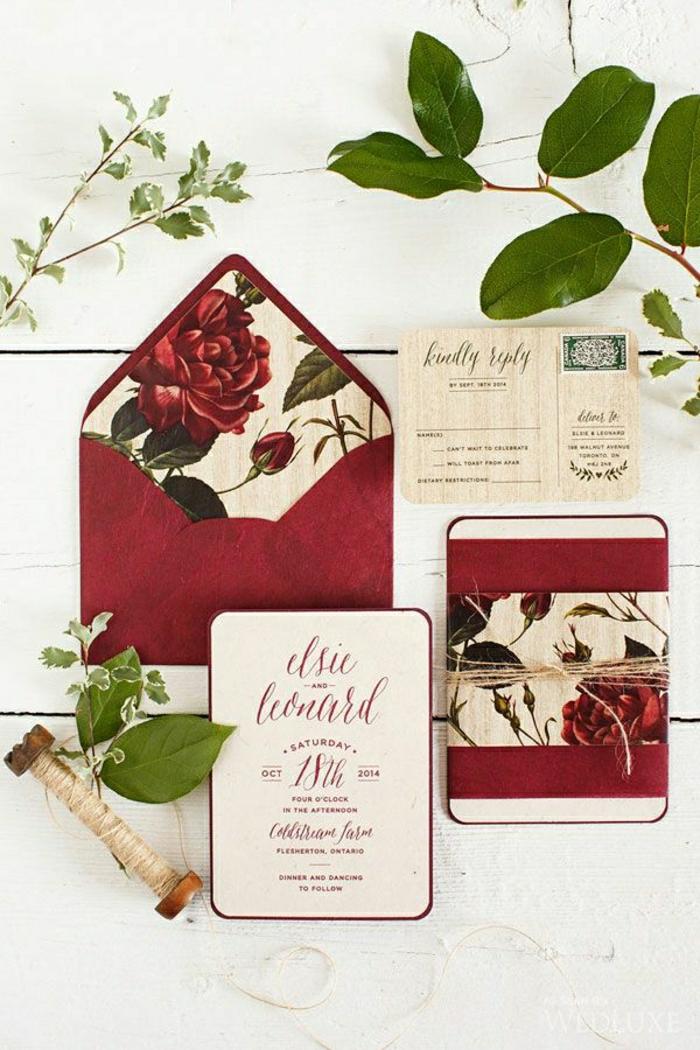 1-jolie-carte-d-invitation-mariage-originale-idee-faire-vous-meme-carte-d-invitation