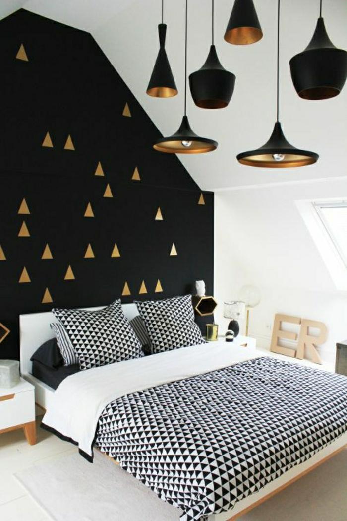 1-jolie-chambre-à-coucher-avec-papier-peint-géométrique-papier-peint-leroy-merlin-dans-la-chambre-à-coucher