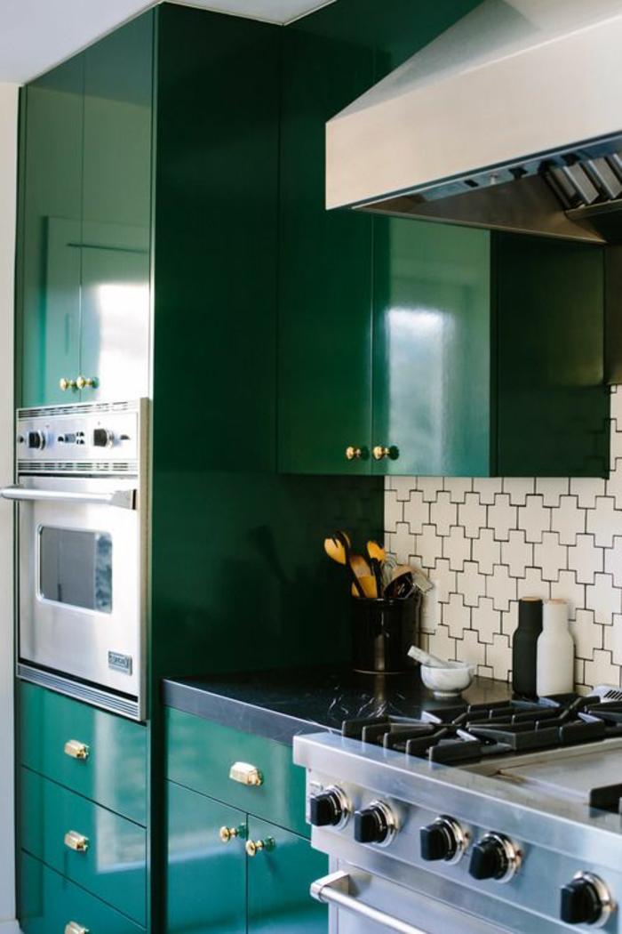 La cuisine laqu e une survivance ou un hit moderne - Jolie cuisine ouverte ...