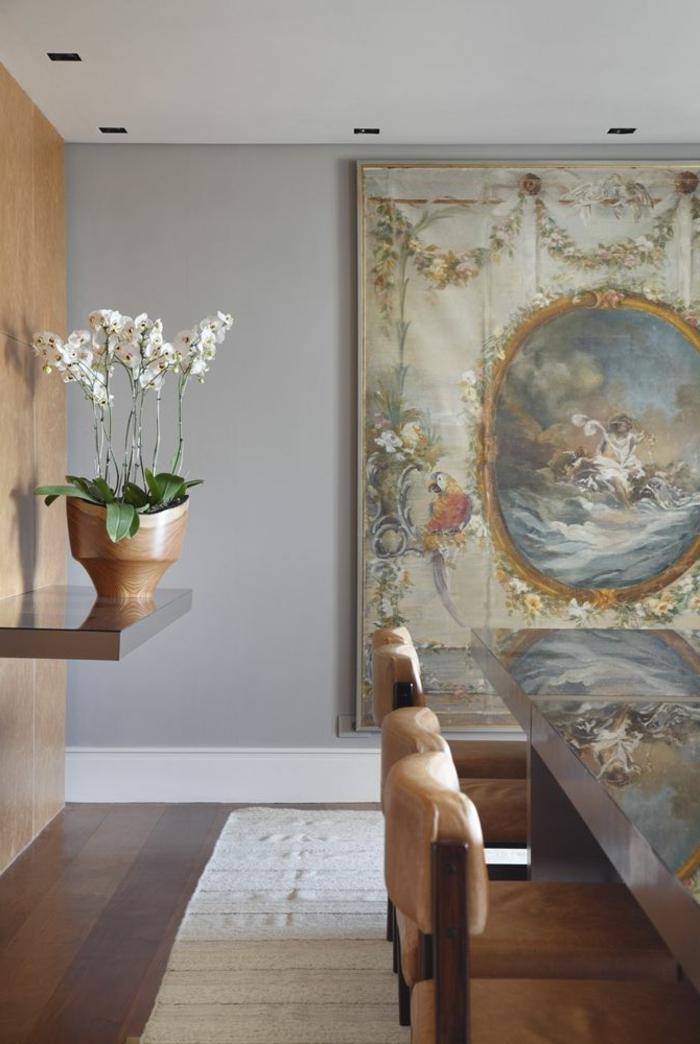 1-jolie-decoration-avec-orchidées-blanches-pour-la-salle-de-séjour-de-style-luxe