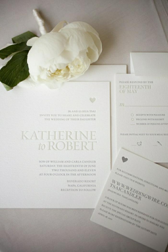 1-jolie-et-elgante-carte-d-invitation-pour-mariage-blanche-elegante-variante-DIY-faire-vous-memes