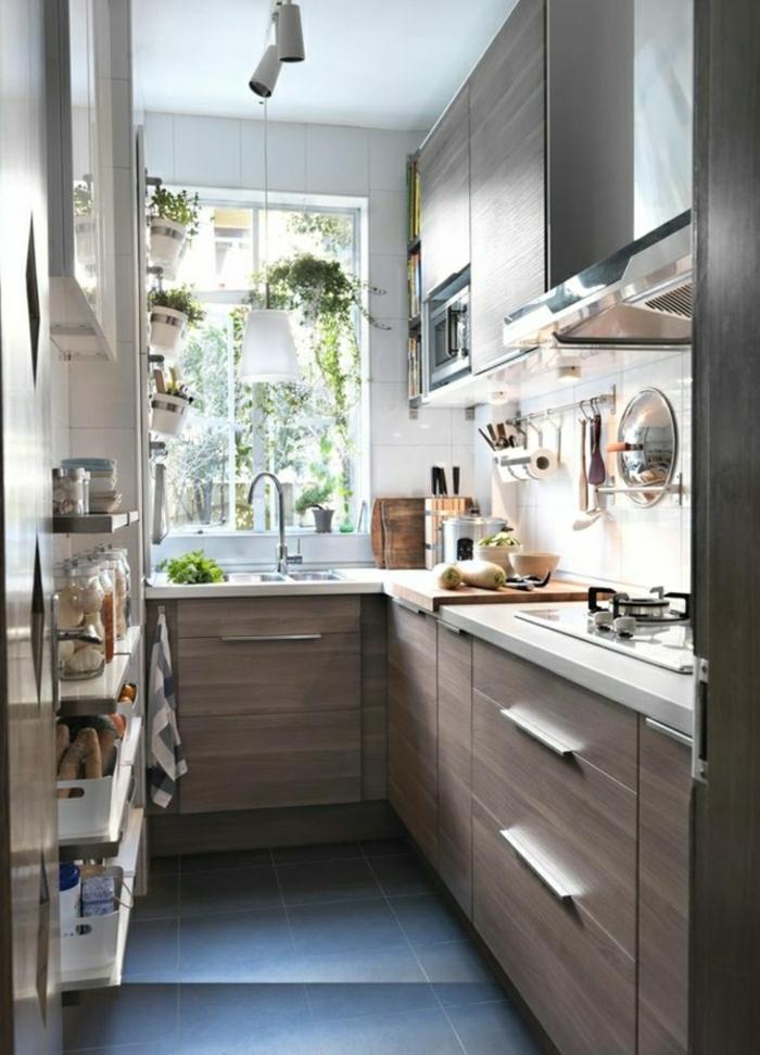 1-la-cuisine-americaine-ikea-avec-meubles-modernes-en-pvc-de-couleur-taupe-et-carrelage