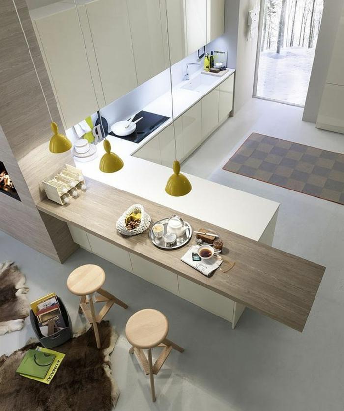 1-la-cuisine-blanche-laquéе-dans-un-appartement-d-esprit-loft-sol-gris-meubles-blanches