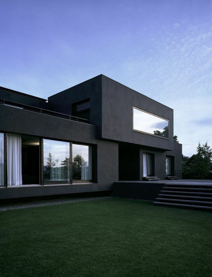 Le minimalisme en architecture contemporaine en 53 photos for Style de villa moderne